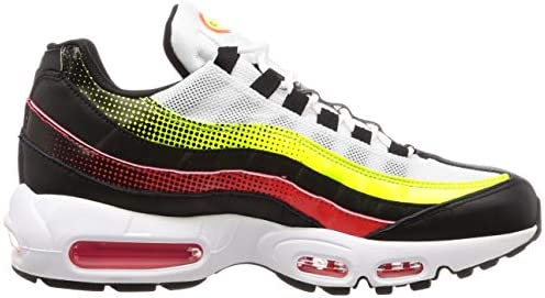 Nike Air Max 95 Se Shoes (blackaloe verde bright crimson volt)