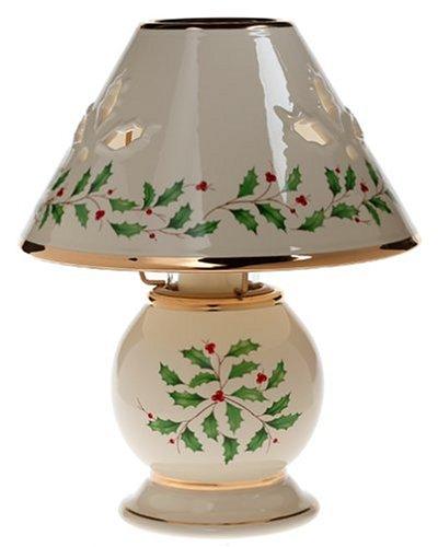 Amazon lenox holiday candle lamp lennox holiday lamp kitchen lenox holiday candle lamp aloadofball Choice Image