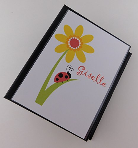 Flower Photo Album Lady bug 127 100 4x6 picture book Baby Girl Gift