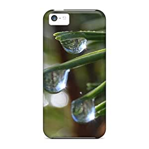 Jeffrehing Iphone 5c Well-designed Hard Case Cover Waterdrops Protector