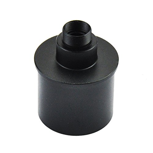Gosky Webcam Adapter for Webcam SPC 900NC Etc / Telescope 1.25inch Connection - M12 Thread - Ideal for Taking Videos and Capture of Moon and Planets