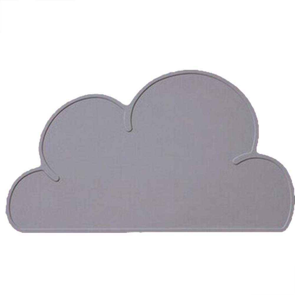 Per Silicone Placemat for Babies Clouds Shape for Dining Table Tableware for Infant