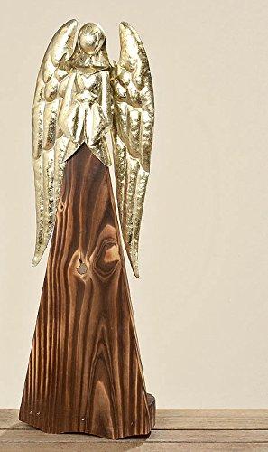 Weihnachtsdeko Gold Braun.Engel Leonie Braun Gold Holz Metall Weihnachtsdeko Versch Größen H36