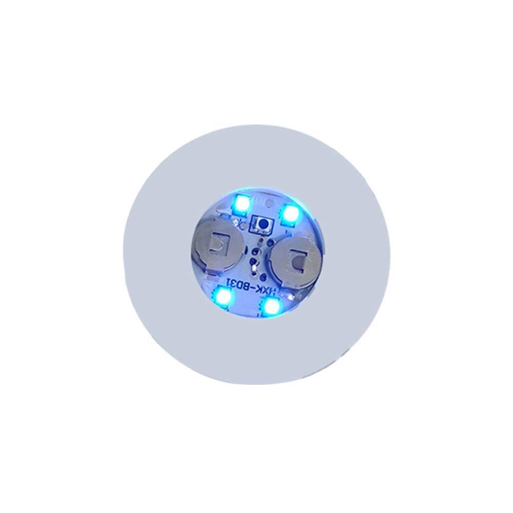 Blanc 10 Paquet Taille Unique Lampes LED Allumer Sous-Verre 10//20 Paquet 4 LED 3 Modes LED Bouteille Buvant Stickers dessous de Verre Bouteille Tasse Coussinet Lumineux Tapis pour Barre Club F/ête