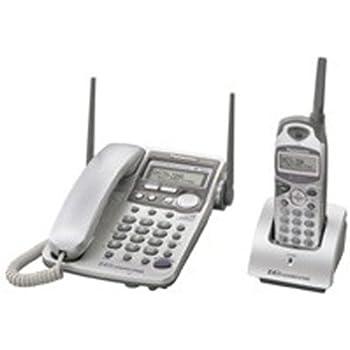 Amazon Panasonic Kx Tg2584s 24 Ghz Cordedcordless Phone