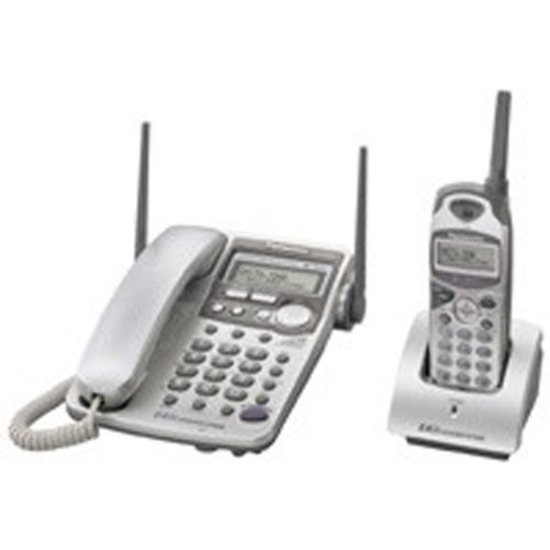 Panasonic KX-TG2584S 2.4 GHz Corded/Cordless Phone System