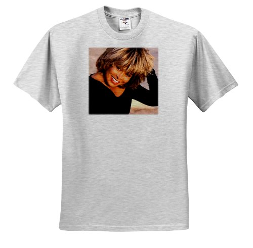 Tina Turner - Tina Turner - T-Shirts - Adult Birch-Gray-T-Shirt XL (Birch Gray T-shirt)