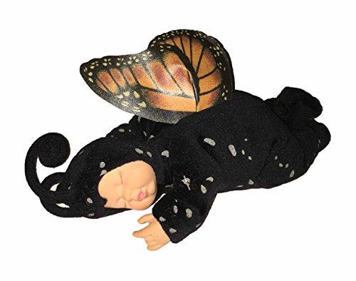 Anne Geddes Sleeping Baby Butterfly Doll