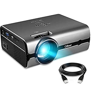 Projector Mini LED+LCD Video Projector Native 800480P Home Mini Portable Projector