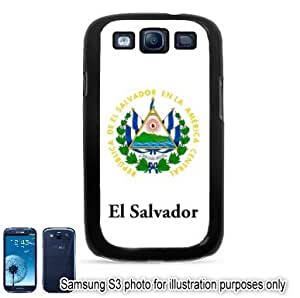 El Salvador Coat of Arms Flag Samsung Galaxy S3 i9300 Case Cover Skin Black by runtopwell