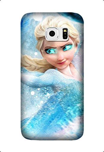 Samsung Galaxy S6 Edge Case -Frozen Movie Soft TPU Rubber Silicone Case Cover Samsung Galaxy S6 Edge Design By [James Jones]