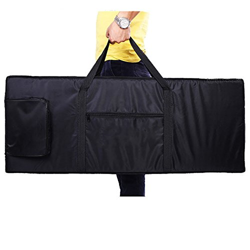 61 Key Electric Piano Keyboard Padded Case Gig Bag Portable