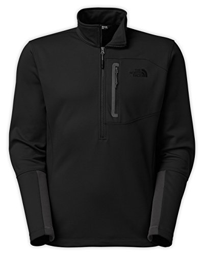 The North Face Men's Canyonlands 1/2 Zip Pullover TNF Black Sweatshirt SM