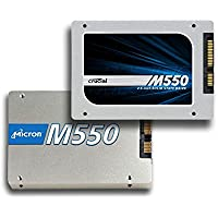 "Micron Crucial M550 1TB 2.5"" (w/ 9.5mm adapter) SATA 6Gbps Solid State Drive (550MBps Read, 500MBps Write; up to 95,000/85,000 IOPS) [PN: CT1024M550SSD1]"