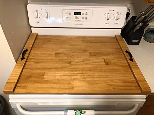 Rustic Stove Top Cover, Wooden Tray For Stove, Wood Stove Top Tray, Stove Tray, Decorative Tray