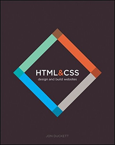 HTML and CSS: Design and Build Websites by Jon Duckett cover