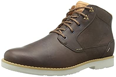 Amazon.com | Teva Men's Durban Leather Chukka Boot | Chukka
