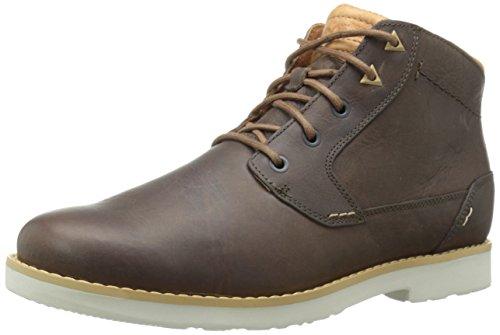 Teva Men's Durban Leather Chukka Boot, Bison, 8 M US -  1008302-BIS