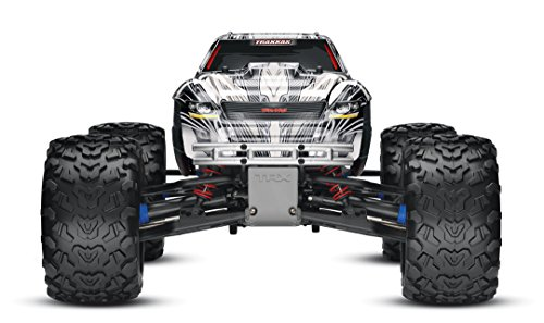 Traxxas T-Maxx 3.3: 1/10 Scale Nitro-Powered 4WD Monster Truck with