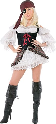 [Morris Costumes Women's BUCCANEER BEAUTY, SMALL] (Buccaneer Beauty Costume)