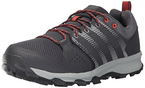 (adidas Men's Galaxy M Trail Runner Running Shoe Utility Black/Grey Five/Energy 10 Medium US)