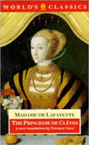 Book The Princesse de Cleves (World's Classics)