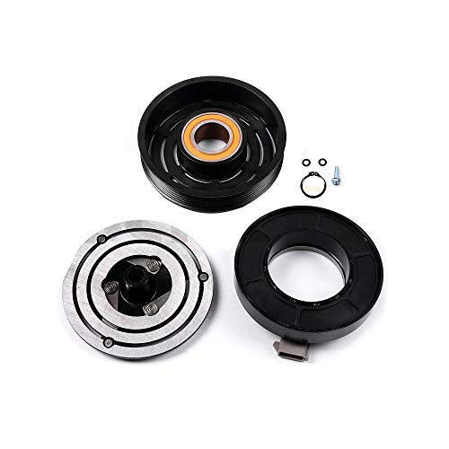 SCITOO Compatible with AC Compressor Clutches Repair Set CO 101320C Auto Compressor Clutch Assembly Kit for Mazda B2300 Tribute Ford F-250 Ranger Explorer 1988-2011