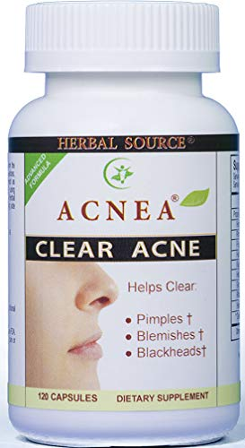 ACNEA Remedy: The Most Effective and Powerful Acne Pills on the Market Today, Clear Pimple and Blimishes, Combat Pimple From Inside Out, Work Gently With No Side Effects, 120 Capsules, Made in USA.