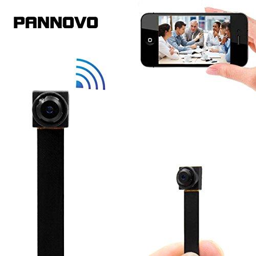 Wifi Mini Camera, PANNOVO HD 1080P Security Camera Nanny Cam