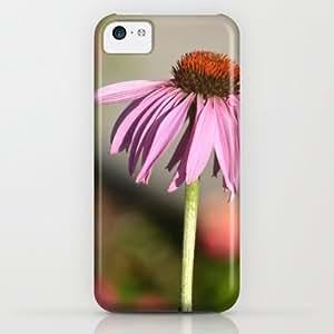 Society6 - Pink Echinacea Flower iPhone & iPod Case by Zen And Chic Kimberly Kurzendoerfer
