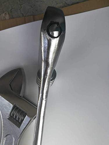 調整可能なレンチ可動式オープニングスパナ締め付けツール10インチ