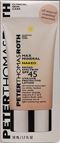 PETER THOMAS ROTH - Max Mineral Naked Broad Spectrum SPF 45 Lotion