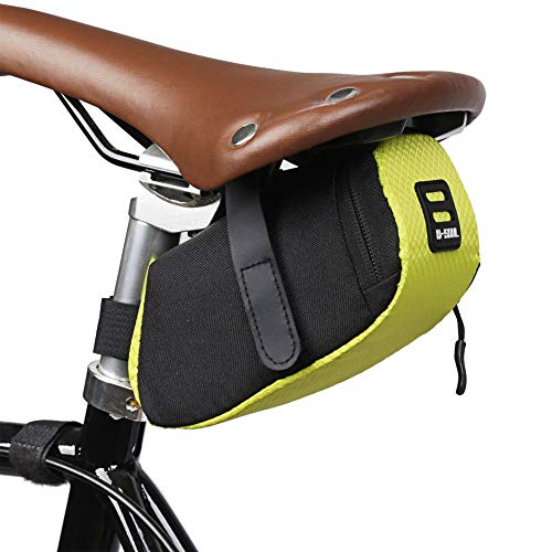 Portable Waterproof Bicycle Bike Seat Saddle Bag Cycling Tail Rear Storage Pouch Packs Cycling Accessories for Outdoor…