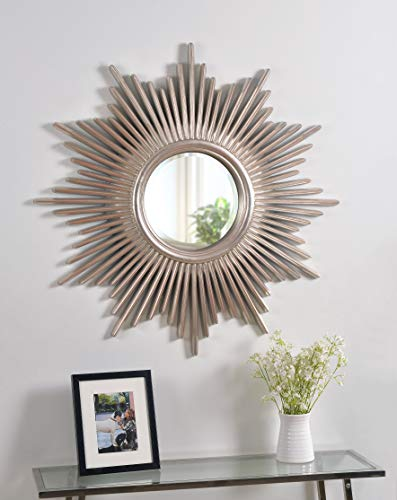 Kenroy Home Reyes Wall Mirror, 36 Inch Height, 36 Inch Diameter, 1.5 -