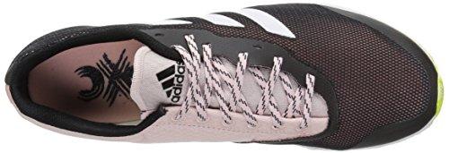 Adidas Prestanda Kvinna Xcs Spikeless W Terränglöpning Skor Svart / Vit / Sol Gul