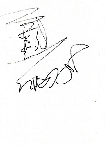 Jean-Paul Gaultier HAUTE COUTURE autograph, In-Person signed sketch - Jean Paul Gaultier Couture
