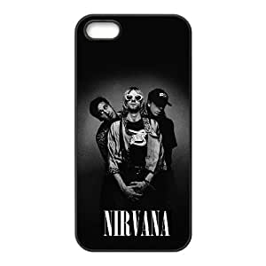 Nirvana Band For iPhone 5,5S Custom Cell Phone Case Cover 96II655883
