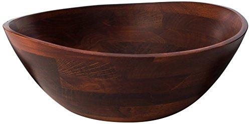 Wooden Dining Bowls ~ Large wood salad bowl amazon