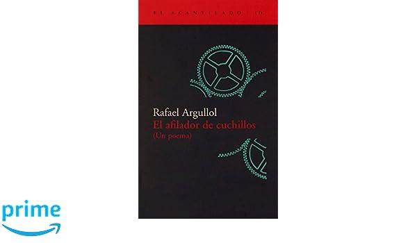 El afilador de cuchillos (Un poema) (El Acantilado): Amazon ...