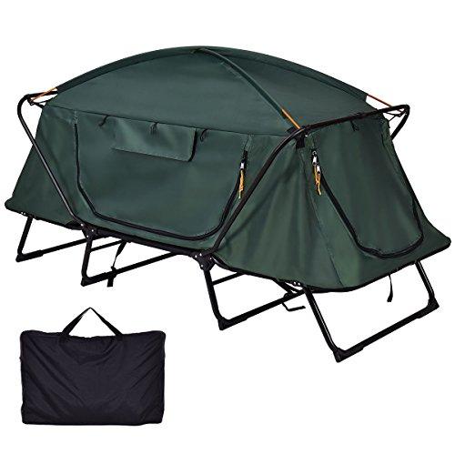 Tangkula Tent Cot Folding Waterproof 1 Person Hiking