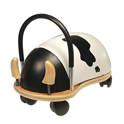 WE-R-KIDS Game / Play Prince Lionheart Wheely Bug - Small/Cow. Ride, Non-Toxic, Wooden, Colorful, Animals, Toy Toy / Child / Kid: Toys & Games