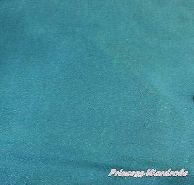FidgetKute 1 Yard Satin Fabric Solid Single Color for Tutu Pettiskirt Cloth Crafts Sewing Teal greenteal Green