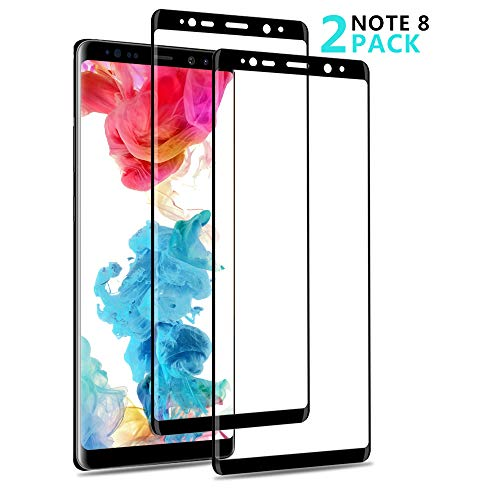 Vinpie Samsung Note 8 Screen Protector, 2 Pack [Bubble-Free] [Easy to Install] [9H Hardness Grade] Tempered Glass for Galaxy Note 8