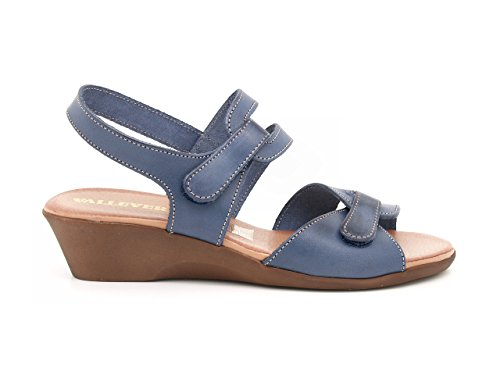 bleu Sandales VALLEVERDE pour femme bleu CP4tqtn