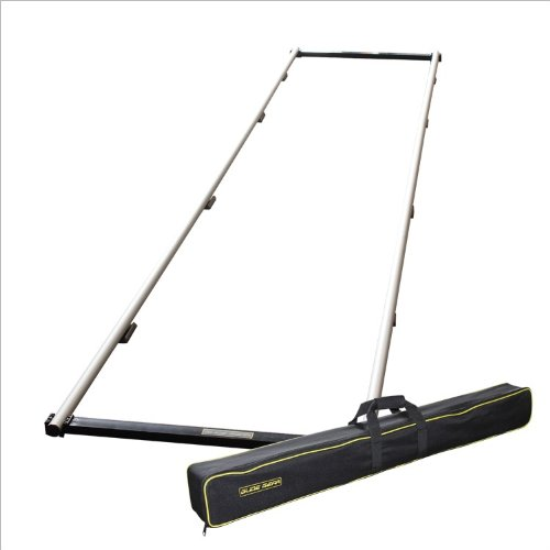 Glide Gear SYL 101 Video Floor Tripod Camera Dolly Aluminum 12 ft Track with Carry Bag