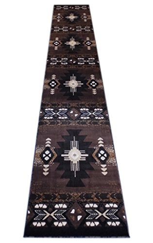 Cheap  Concord Global Trading South West Runner Area Rug Design C318 Chocolate (32..