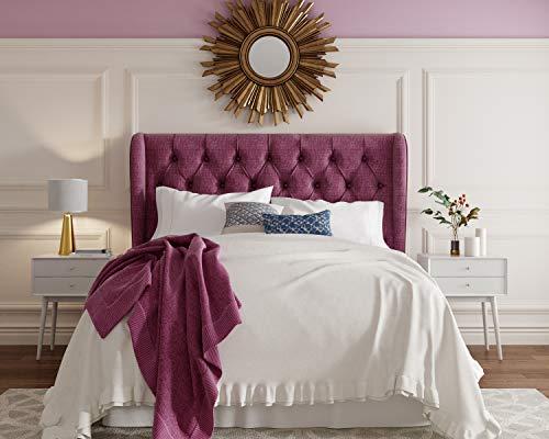 (Lillian August HB1000037 Harlow Headboard, Eastern King, Purple)