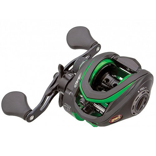 Lew's Fishing Mach Speed Spool MCS Casting Reel with 7.5:1 Gear Ratio & 10 Bearings, 10 lb Max Drag, Right Hand