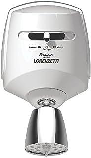 Ducha Relax 127V 5500W, Lorenzetti, 7540117, Branco/Cromado, Pequeno