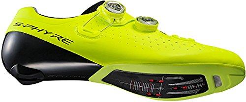 Shimano shrc9oc460syz0–Scarpe da ciclismo, 46, Giallo, Unisex